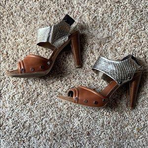 Donald J. Pliner studded heels